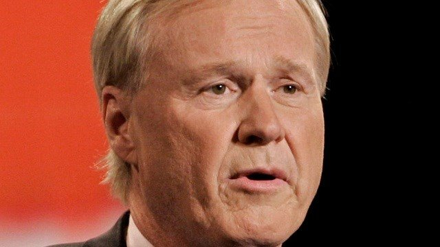 ** FILE ** In this Oct. 9, 2007 file photo, Chris Matthews speaks before the GOP Presidential candidates debate which he moderated at the Ford Community and Performing Arts Center in Dearborn, Mich. (AP Photo/Carlos Osorio,file)