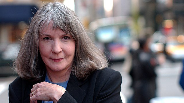 In this Oct. 15, 2002 file photo, mystery writer Sue Grafton poses for a portrait in New York. (AP Photo/Gino Domenico, file)