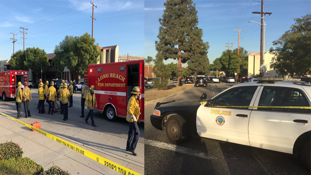 Multiple people shot at California business