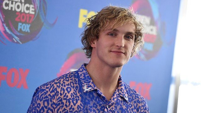 Logan Paul arrives at the Teen Choice Awards at the Galen Center on Sunday, Aug. 13, 2017, in Los Angeles. (Photo by Jordan Strauss/Invision/AP)