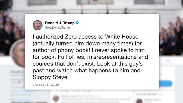 Trump tries to block release of 'libelous' book
