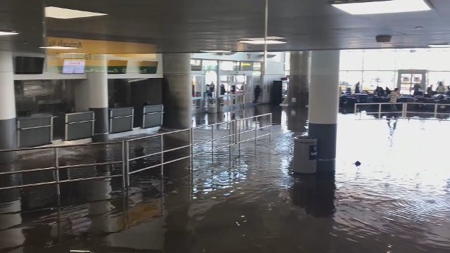 Flooding at JFK airport worsens travel delays