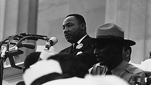 Civil Rights March on Washington, D.C. [Dr. Martin Luther King, Jr. speaking.], 08/28/1963. (Photo: National Archives)