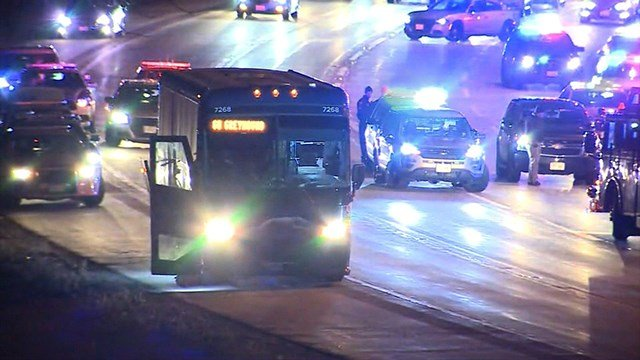 Police say a man on a Greyhound bus claimed to have a gun and made threats to kill people as the vehicle traveled from Milwaukee to Chicago (WISN)