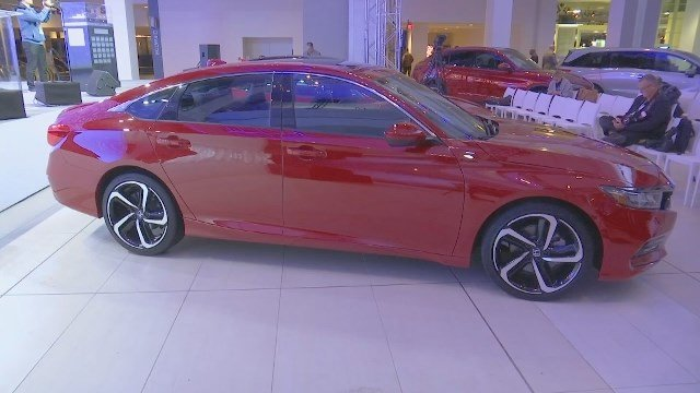 Accord, Navigator, XC60 take top prize at Detroit auto show