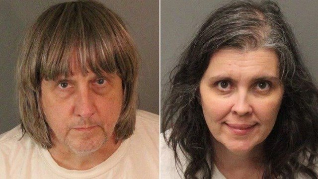 (Source: CNN) Two parents were arrested after police discovered that 13 people were being held captive in their California home, shackled to beds with chains and padlocks in filthy conditions, officials said Monday.