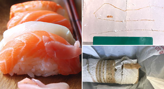 California man finds 5-foot tapeworm in body, likely from sushi