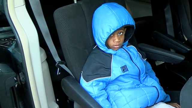 An Alabama mother is outraged after her 5-year-old son was reportedly left alone on a cold school bus for hours.  (Source: WBRC via CNN)