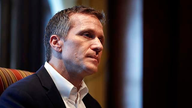 Federal Bureau of Investigation opened inquiry into MO Gov. Greitens
