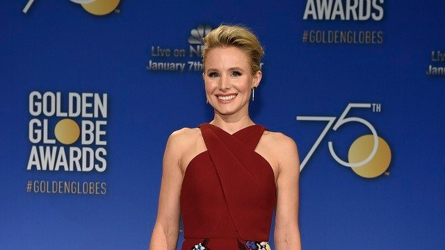 Kristen Bell poses during the nominations for the 75th Annual Golden Globe Awards at the Beverly Hilton hotel on Monday, Dec. 11, 2017, in Beverly Hills, Calif. The 75th annual Golden Globe Awards will be held on Sunday, Jan. 7, 2018. (Chris Pizzello/AP)