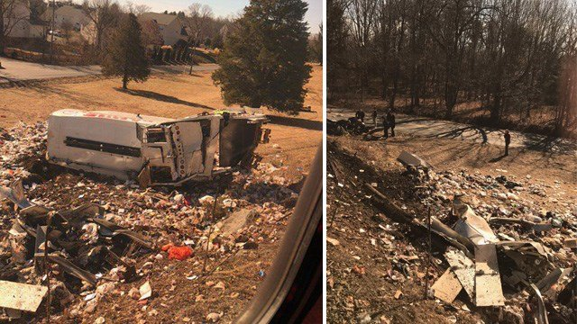 Train carrying members of Congress hits vehicle