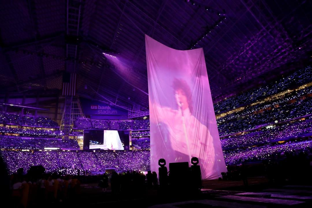 Timberlake includes Prince tribute at halftime