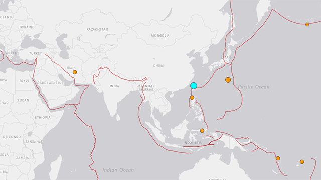 Magnitude 6.0 quake rocks Taipei, east coast