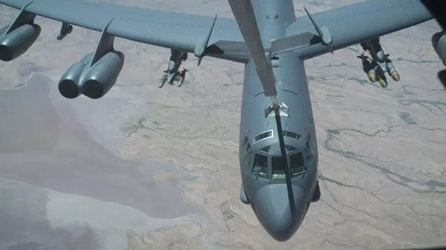 (Source: CNN) A US Air Force B-52 bomber launched a record-setting series of strikes this week in Northern Afghanistan -- dropping 24 precision-guided munitions on Taliban fighting positions during 96 hours of air operations.