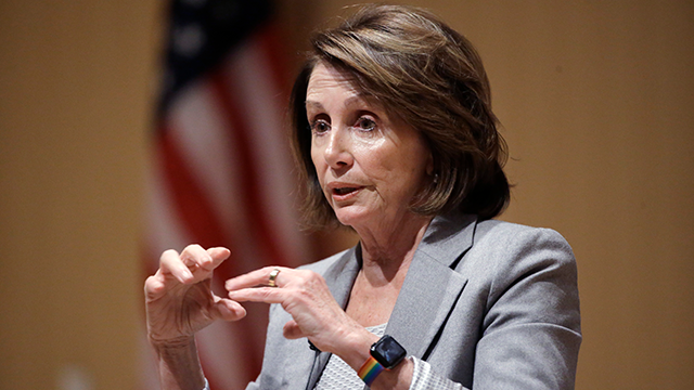 Pelosi sets record with 8-hour speech on immigration