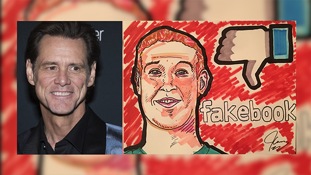 Jim Carrey urges people to boycott Facebook because of Russian election meddling
