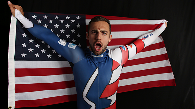 Chris Mazdzer wins USA's first-ever male singles luge medal