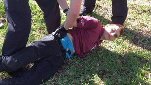Photo of Suspect Nikolas Cruz from the Florida high school shooting. (WPTV)