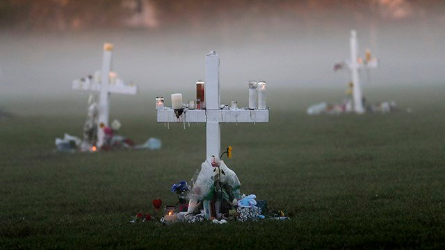 Florida town's sorrow turns to anger toward inaction on guns