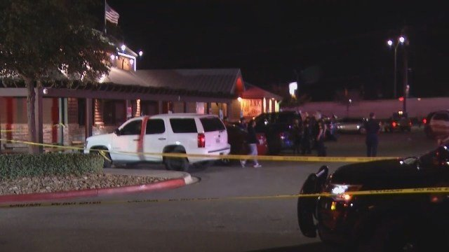 Six-year-old, 3 others shot outside Texas Roadhouse restaurant