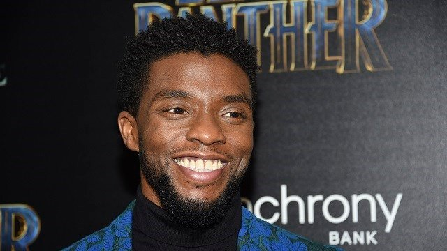 "Chadwick Boseman attends a special screening of ""Black Panther"" at the Museum of Modern Art on Tuesday, Feb. 13, 2018, in New York. (Photo by Evan Agostini/Invision/AP)"