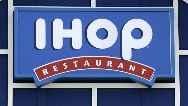 An IHOP restaurant sign is shown in Burbank, Calif., in this July 16, 2007 file photo. (AP Photo/Nick Ut, file)