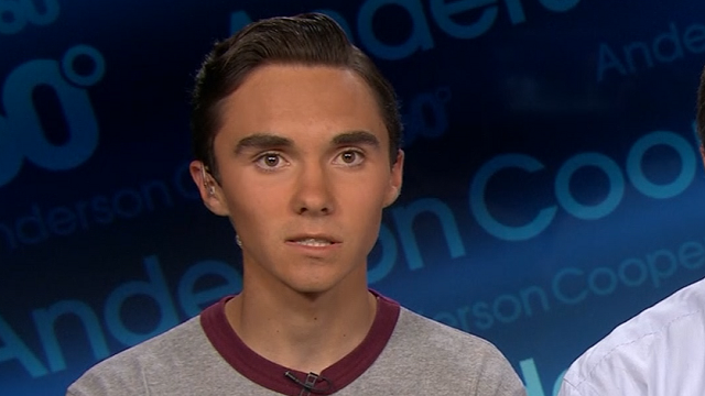 David Hogg (Source: CNN)
