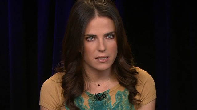 Actress Karla Souza said she was raped early in her career by a producer she did not name.(CNN)