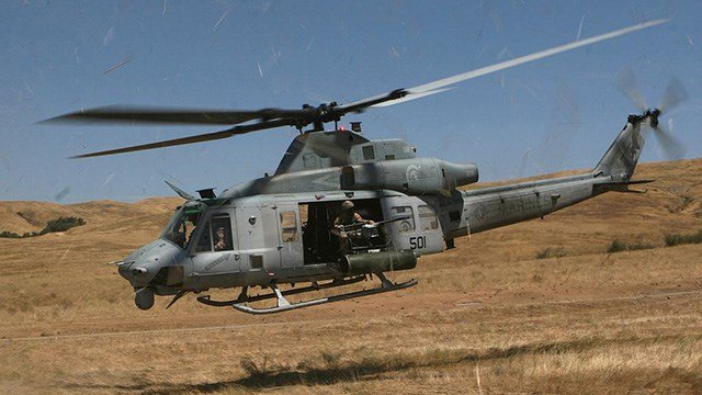 (File photo of a UH-1Y Venom helicopter)