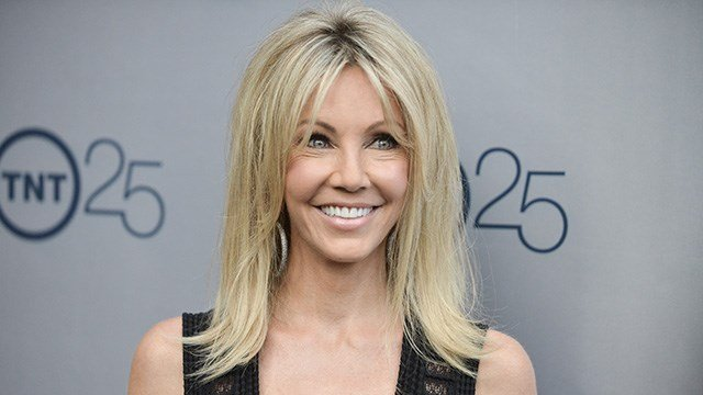 Heather Locklear arrives at the TNT 25th Anniversary Party at The Beverly Hilton Hotel on Wednesday, July 24, 2013 in Los Angeles.