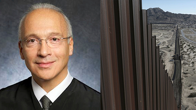 (U.S. District Court via AP, File) FILE - This undated photo provided by the U.S. District Court shows Judge Gonzalo Curiel. Curiel, who was taunted by Donald Trump during the presidential campaign, has sided with the president on a challenge to...