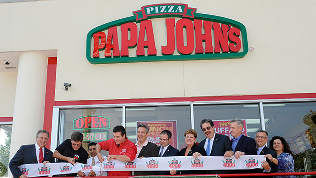 (Photo by Kathy Kmonicek/Invision for Papa John's/AP Images)  FILE Photo