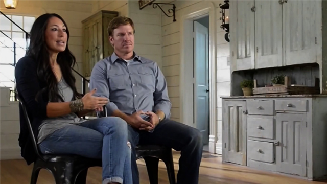 "Chip and Joanna Gaines are delivering up 15 half-hour episodes of a fresh companion series, ""Fixer Upper: Behind the Design."" (HGTV via CNN)"