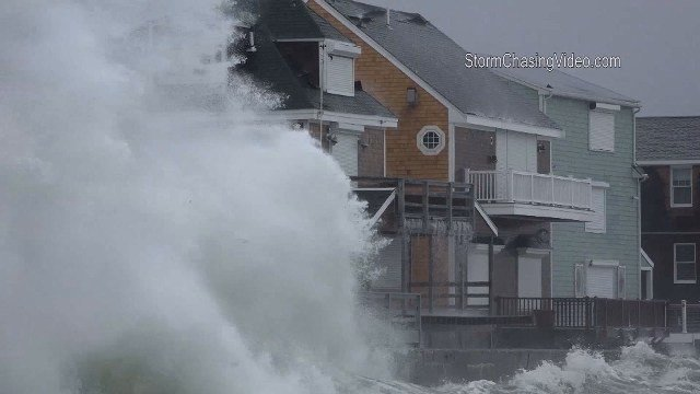Storm Brings Coastal Flooding, Strong Winds and Heavy Rain to East Coast