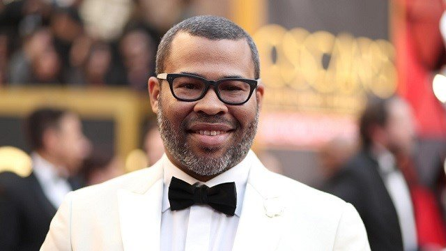 "Actor and director Jordan Peele won best original screenplay for his film ""Get Out."" (Christopher Polk/Getty Images)"