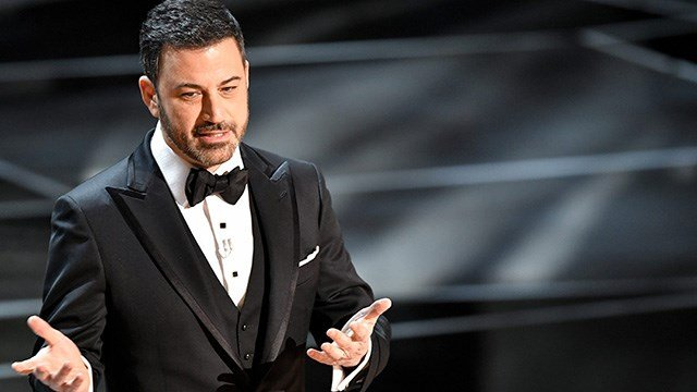 Jimmy Kimmel hosted the 90th Annual Academy Awards in Los Angeles, California.