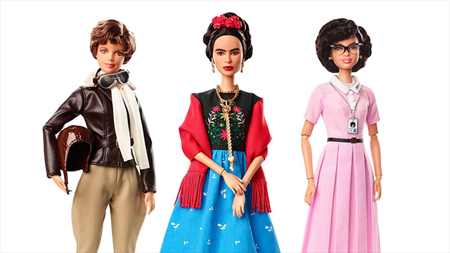 (CNN) Mattel introduces batch of new Barbie dolls based on real-life figures, just ahead of International Women's Day.