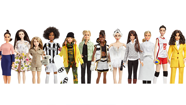 (CNN) The new dolls came after Mattel, maker of Barbie, conducted a survey of 8,000 mothers around the globe and found that 86% are worried about the kind of role models their daughters are exposed to.
