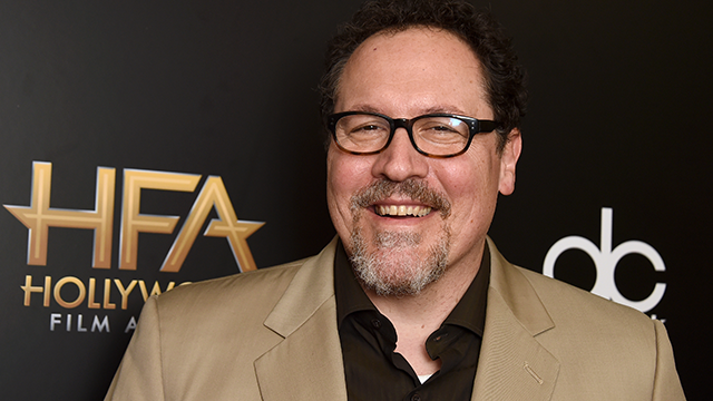 Jon Favreau poses in the press room at the Hollywood Film Awards at the Beverly Hilton hotel on Sunday, Nov. 5, 2017, in Beverly Hills, Calif. (Photo by Jordan Strauss/Invision/AP)