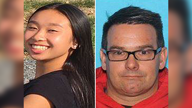 (Allentown Police Department via AP) This combination from photos provided by Allentown, Pa., Police Department shows from left, Amy Yu and Kevin Esterly. Allentown police issued a missing person alert Wednesday, March 7, 2018 for Esterly and Yu.