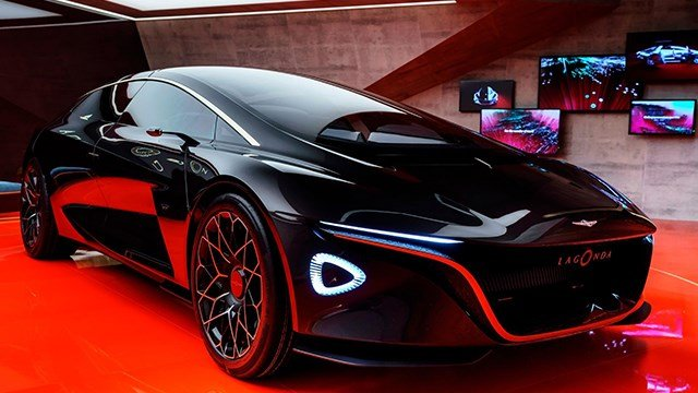 One of the most striking concept cars at the Geneva International Motor Show was, not surprisingly, created by the designers at Aston Martin.