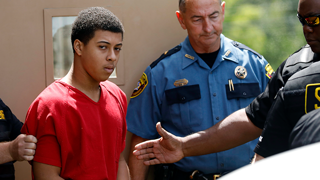 (AP Photo/Rogelio V. Solis, File) n this Monday, June 26, 2017, file photo, Dwan Wakefield, one of three men charged with murder in connection with the shooting death of Kingston Frazier, leaves the Madison County Justice Court on in Canton, Miss.