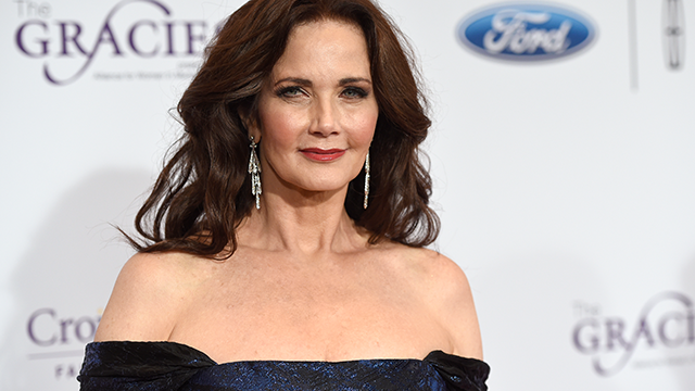 (Photo by Chris Pizzello/Invision/AP, File) FILE- In this May 24, 2016, file photo, Lynda Carter arrives at the 41st annual Gracie Awards Gala at the Beverly Wilshire Hotel in Beverly Hills, Calif.