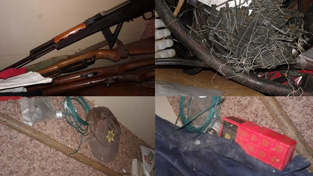 (Source: FBI) According to the affidavit, the four men were in possession of assault rifles from October 2017 to March 2018.