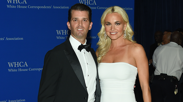 Donald Trump Jr. and wife Vanessa Trump attend the White House Correspondents' Association Dinner at the Washington Hilton Hotel, Saturday, April 30, 2016, in Washington. (Photo by Evan Agostini/Invision/AP)