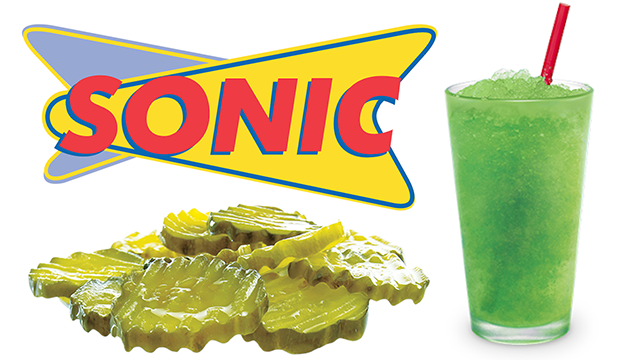 Sonic To Roll Out Pickle Juice Slushes