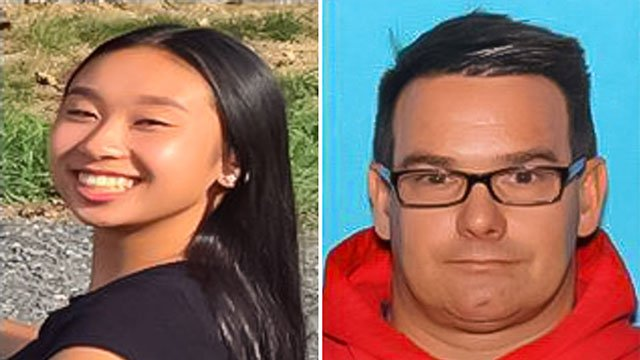 Nearly two weeks after 16-year-old Amy Yu vanished with 45-year-old Kevin Esterly, the pair was found Saturday in Mexico and the man was arrested, authorities say. (Allentown Police Department)