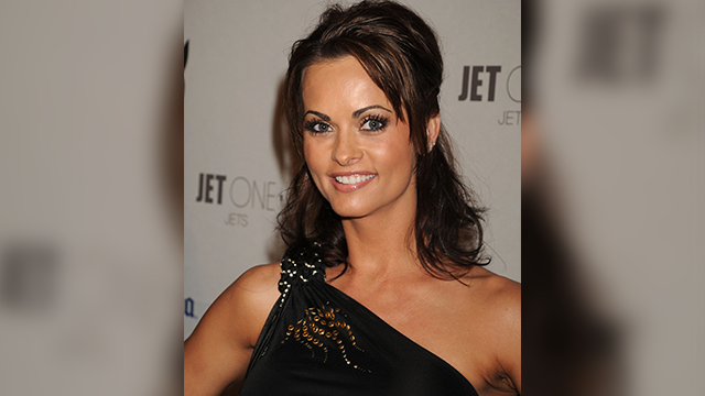 (Getty Image) Playmate Karen McDougal attends the Playboy's Super Saturday Night Party during Super Bowl Weekend on February 2, 2008 in Phoenix, Arizona.