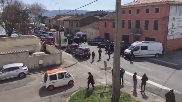 Raw Video: Police respond to deadly hostage situation in France