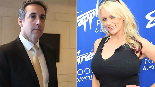 Porn star Stormy Daniels filed a lawsuit for defamation on Monday against President Donald Trump's personal attorney Michael Cohen. (CNN)